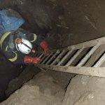 Sestup do Staré Amatérské jeskyně