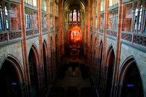 Z triforia Svatovítské katedrály