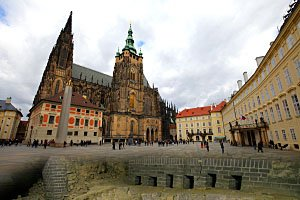 Pod dlažbou Pražského hradu