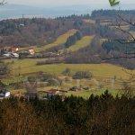 Popravčí vrch od hradu Přimda