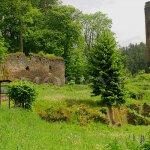 areál bývalého zámku a hradu Zedwitzů