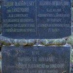 náhrobní deska Barbory z Langendorfu
