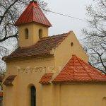 kaple sv. Gotharda pod skálou kamýku