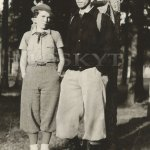 Billy Broches a Saxona 1935