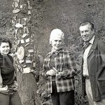 Pavla Brochesová a Jarda Štercl na Zlatém dnu 1975