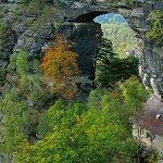 jiné skalní okno - Pravčická brána