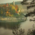 hrad Zvíkov na soutoku Otavy a Vltavy