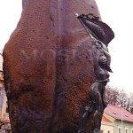 Památník je zároveň menhirem (Zbraslav nad Vltavou)