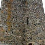 severní strana věže