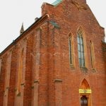 kostel sv. Barbory, Adamov