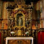 interiér kostela Panny Marie, Broumov