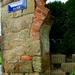 segmenty původních zdí hospody Milenka