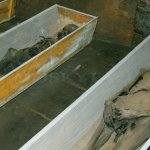 Vamberecké mumie v broumovské kryptě