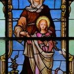 vitraj skokovského kostela