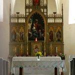 Kostel sv. Martina v Kostelci nad Labem - kněžiště