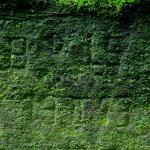 neznámý nápis na rohovém kameni