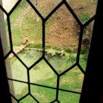 jezírko pod oknem královských komnat