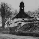 Zaniklá márnice, kostnice ve východním cípu hřbitova u Sv. Mikuláše v Sebranicích