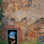 průnik do Pivoňského kláštera