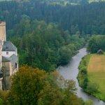 pohled z věže Jakobínky na Nový hrad