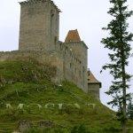 Příchod ke hradu Kašperk