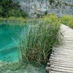 Dřevěné chodníky - Plitvická jezera