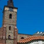 Pohled na klášter od vstupní brány
