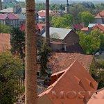 Žatecké komíny - pohled z Chmelového majáku