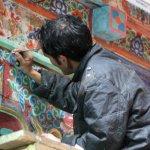 Markha valley trek – restaurování v klášteře Hemis