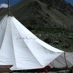 Markha valley trek – typické stanové občerstvení