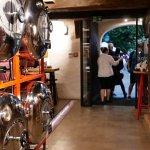 Tanky s pivem v restauraci Solnice