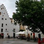 Budova gotické sýpky, dnes restaurace Solnice na Piaristickém náměstí