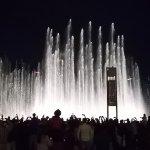 Večerní hrací fontána
