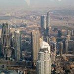 Pohled na Dubaj ze 124 patra
